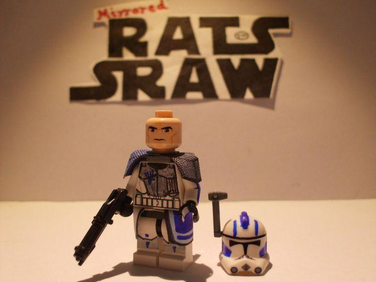 Lego Star Wars Minifigures Clone Custom Arc Trooper Echo