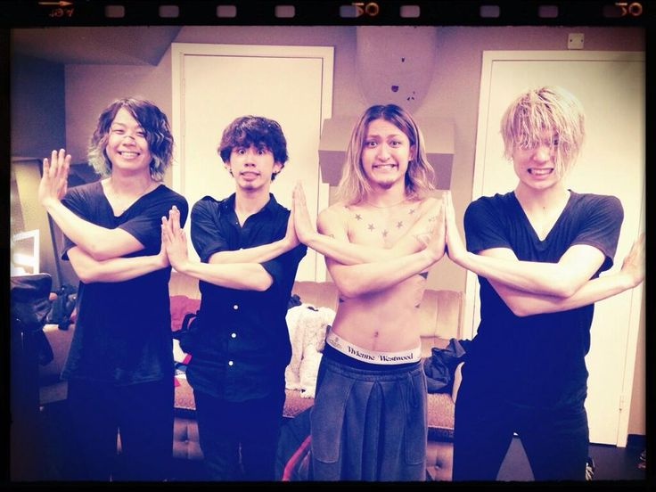 One OK Rock backstage in Amsterdam 29.10.2013 Last concert in Europe :( Crédits : Rui Hashimoto