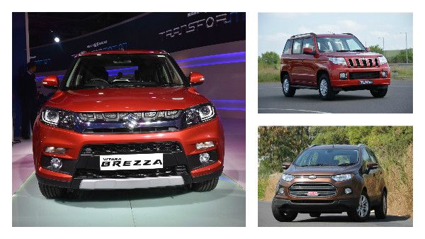 With its launch just around the corner, let's take a look at how the Maruti Vitara Brezza fares against rivals on paper.