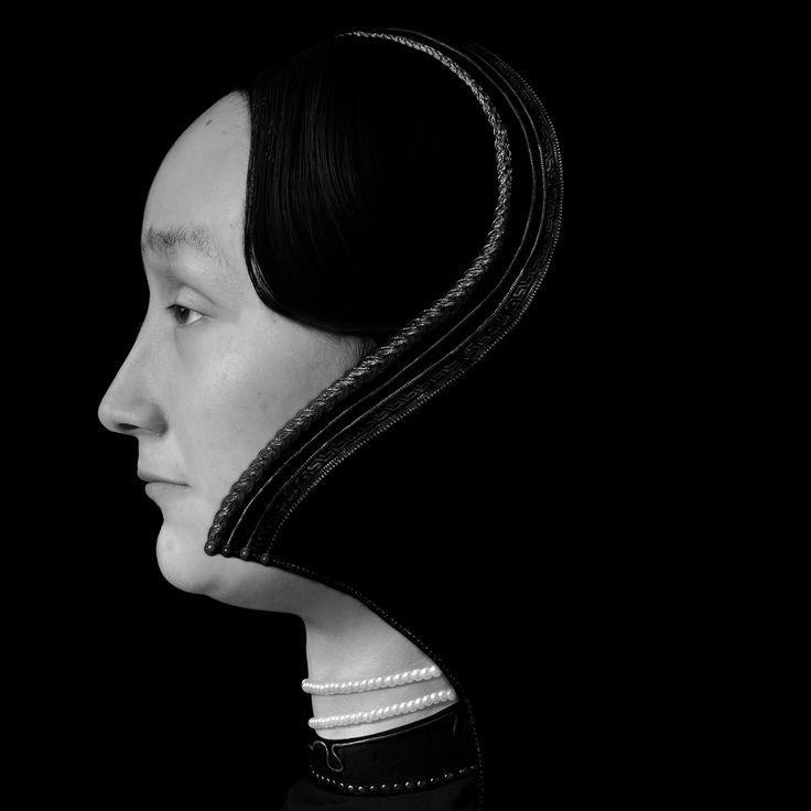 Zhang Wei, retratos de mulheres desconhecidas (5), a série de Teatro artificial