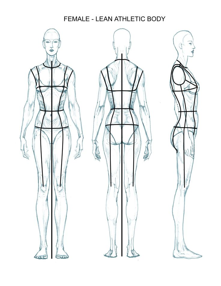 1000 Ideas About Body Template On Pinterest Fashion