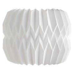 KURA White paper small lamp shade 25 x 20cm