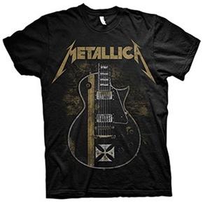 Metallica James Hetfield Iron Cross Guitar Shirt