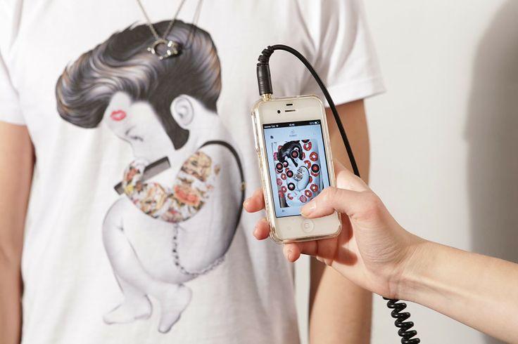 """Realtà aumentata & #t-shirt!? ...con la nostra app """"#Siamoises"""" si può: punta la tua #maglia e inizia il divertimento!   http://bit.ly/1hvhgUP"""