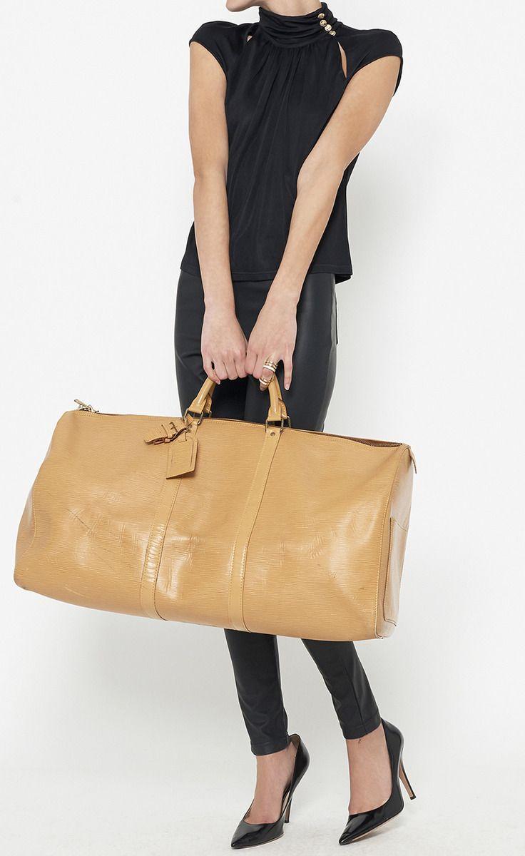 Louis Vuitton Tan Luggage | VAUNTE