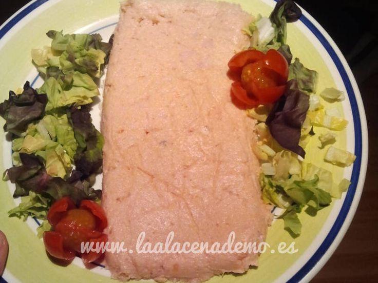 Receta de paté de salmón con thermomix en…