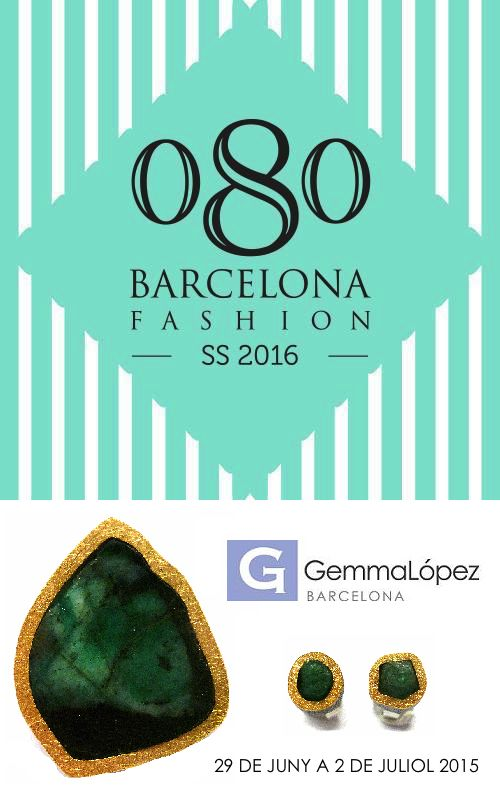 Gemma López participará en el FASHION MARKET de la 080 BARCELONA FASHION WEEK. Del 29 de Junio al 3 de Julio en el Estadi Olimpic Lluis Companys de Barcelona