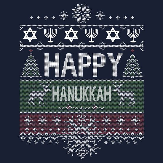 Happy Hanukkah Ugly Jewish Sweater hanukkah, ugly sweater, jew, jewish, judaism, son, christmas, challah, jews, jew, jewish, candles, light, spin, trendy, parody, humorous, funny, hooray, channukah, hannukah, sweater, menorah, chanukah, chanukkah, dreidel, happy hanukkah, totes, kosh, kosher,festival, ugly jewish sweater ugly hanukkah sweater, ugly holiday sweater, funny jewish, jewish sweater, funny gift