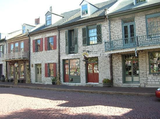 St. Charles, Missouri. I walked the cobblestone streets of this town when I was in labor with Jackson!