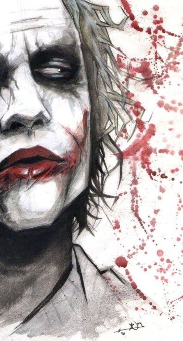 Badass joker art