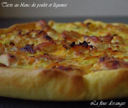 Tarte+au+blanc+de+poulet+et+légumes