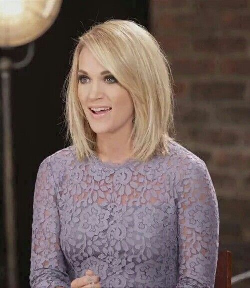 shoulder length straight haircuts best 25 carrie underwood haircut ideas on 2358 | 3f670fe14f3eafad9a3326acc3a292df shoulder length hairstyles medium hair cuts shoulder length