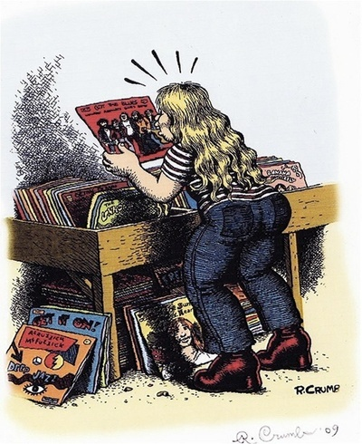davidcharlesfoxexpressionism.com #robertcrumb #cartoons #illustrator