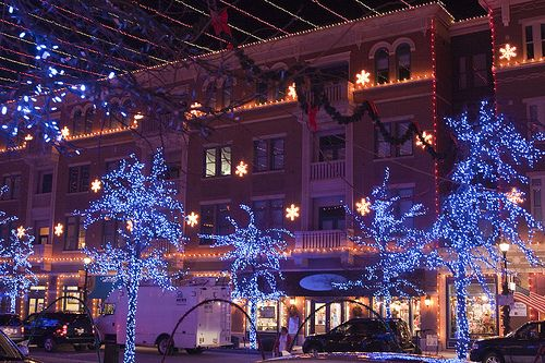 Lights in Downtown Frisco, TX
