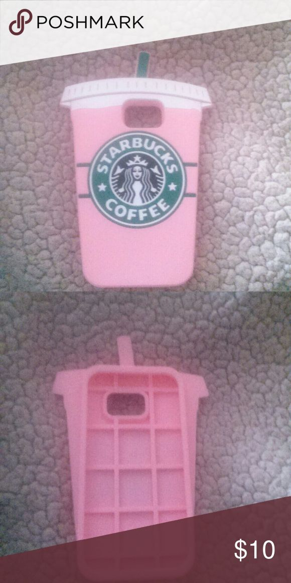Starbucks Galaxy S7 Phone Case 3D Silicone Starbucks Cup Phone Case Other