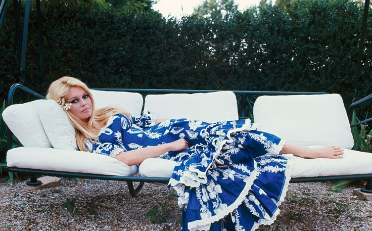 We're Inspired by Brigitte Bardot's Saucy Savoir Faire from InStyle.com