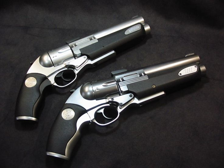 "LUIGI-FRANCHI ""SAFARI-13""  1995eb P  -  +3 / -2 -  L  -  R  -  4D6+3/5d6+1 (.454 Casull cased / .30-06 cased)  -  5 / 1  -  1 / 1  -  VR In function this weapon is exactly the same as the Safari-12, it just varies slightly in appearance, with more of classic look."