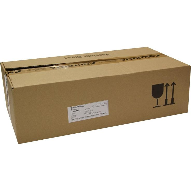 FORTIMEL Energy Bananengeschmack:   Packungsinhalt: 8X4X200 ml Flüssigkeit PZN: 01125287 Hersteller: MCM KLOSTERFRAU…