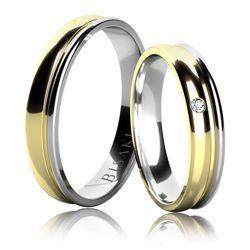 Snubní prsten, model č. 14926