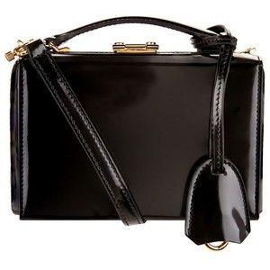 Mark Cross Mini Grace Brush Off Leather Box Bag