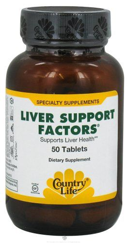 COUNTRY LIFE VITAMINS LIVER SUPPORT FACTORS, 50 TAB ** More details can be found by clicking on the image.