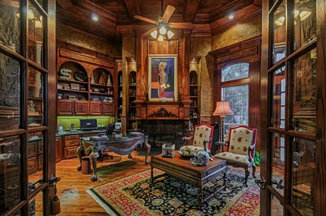 Gentleman S Study French Cottage Cottage French