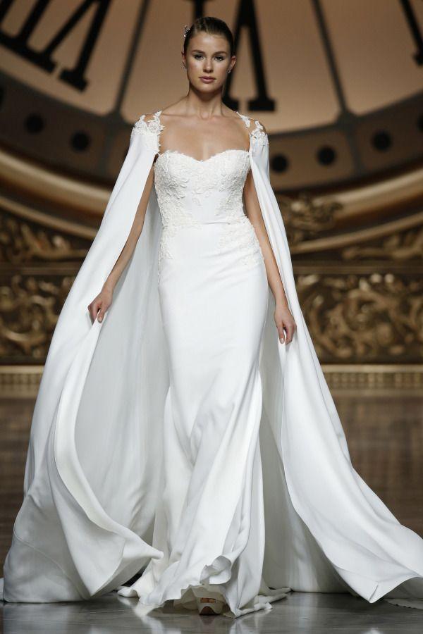 Bridal cape: http://www.stylemepretty.com/2015/05/20/pronovias-barcelona-spring-2016-2/