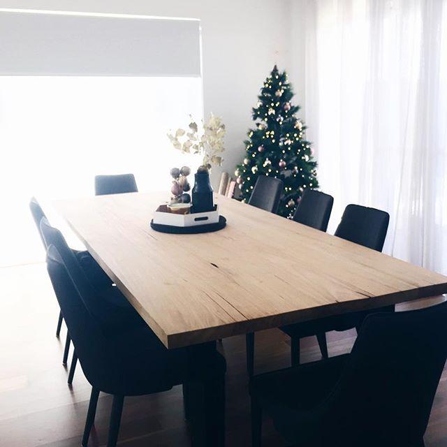Custom Made Dining Table - Marri Wood Dining
