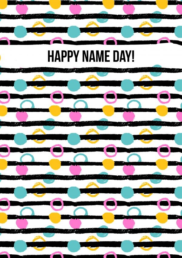 Happy Name day | Glückwünsche | Echte Postkarten online versenden | MyPostcard.com