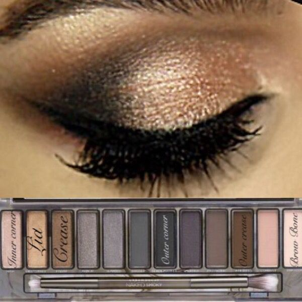 Urban Decay Naked Smoky Palette Eye Makeup