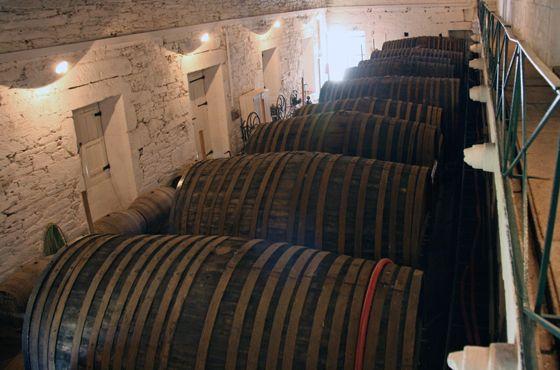 The aging casks for Quinta Vesuvio's single-quinta Port. #Portugal #wine