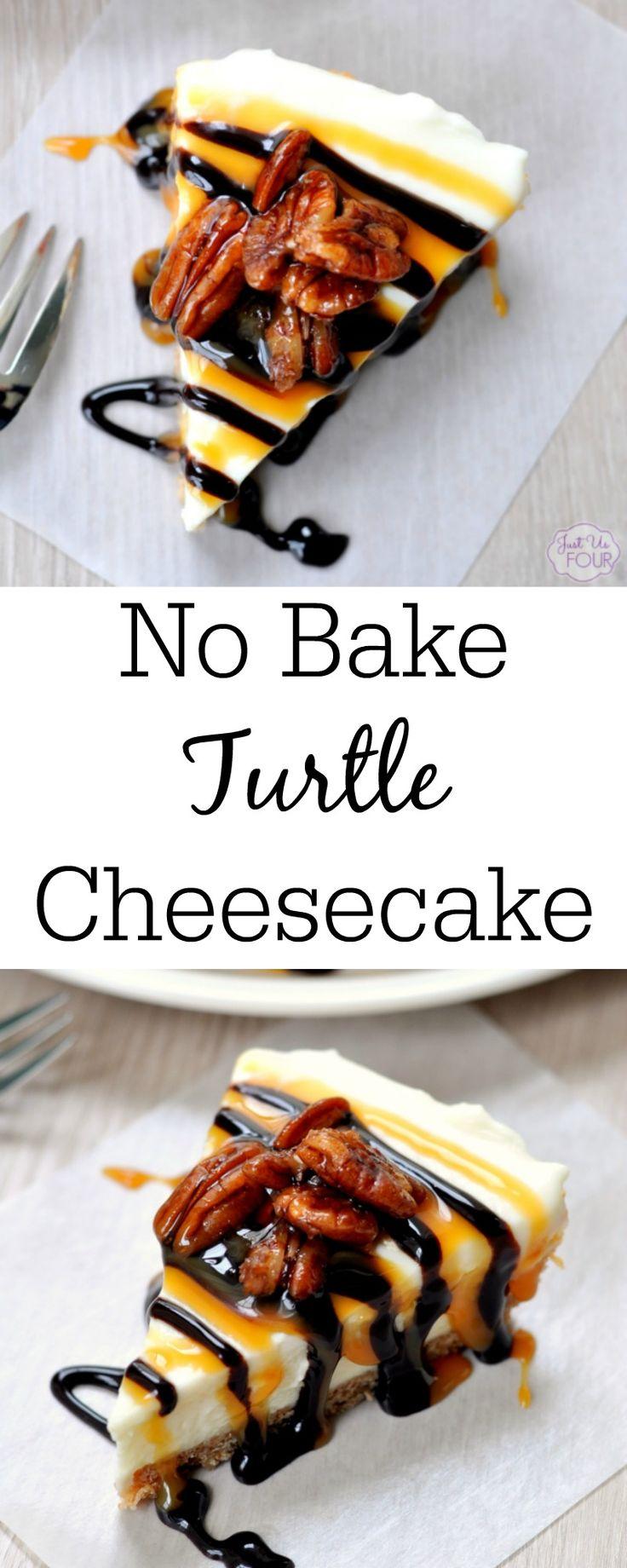 Pas de tarte au fromage à la tortue