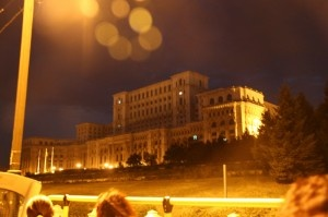 The Palace of the Parliament - People's House, Bucharest, Romania
