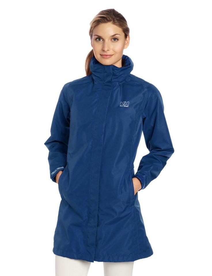 Amazon.com: Helly Hansen Women's New Long Aden Rain Jacket: Sports & Outdoors