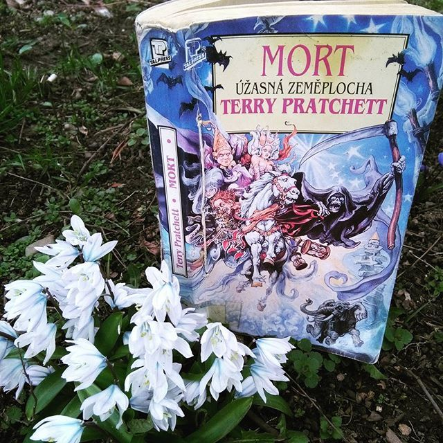 Do you not know that a man is not dead while his name is still spoken? - Terry Pratchett http://worldof-fiction.blogspot.cz/?m=1 #rip #terrypratchett #discworld #mort #death #spring #snowdrops #sternberk #march #love #lovereading #beletrie #book #fantasy #fiction #humor #magic #satira #writter #fictionworld