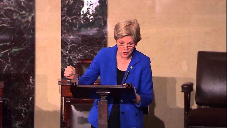 Senator Warren on the Trans-Pacific Partnership Trade Agreement