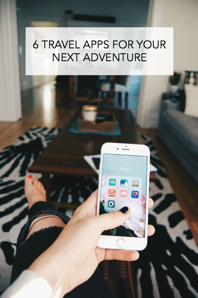 Whatever your travel plans are, there's likely an app to make the adventure a little easier! Check out these 6 travel apps for your next adventure | westandnest.com