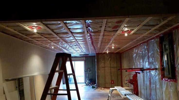Strapping Livingroom renovation