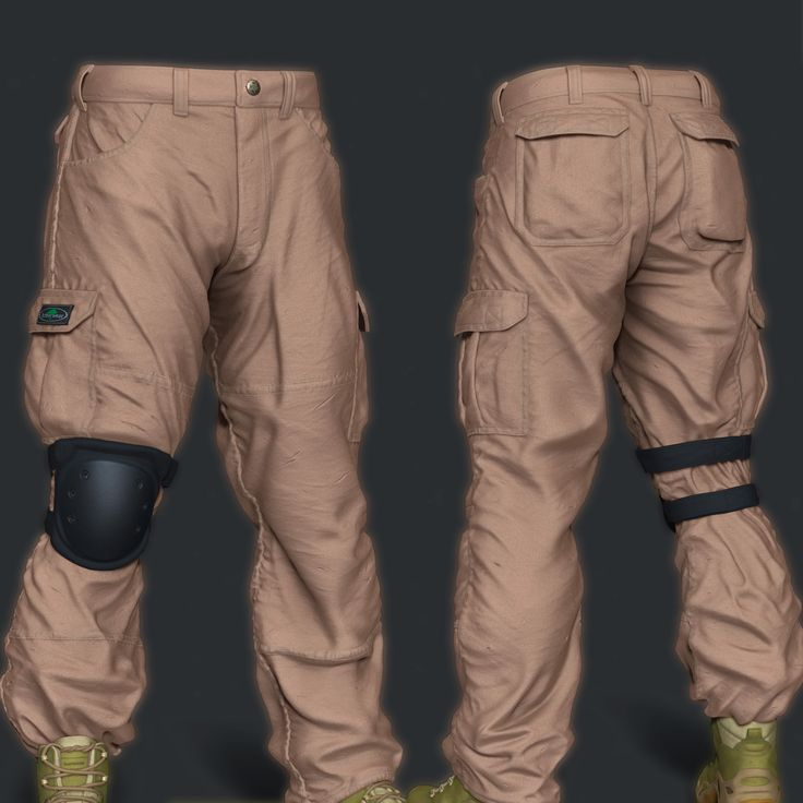 Military Pants - Arborwear Tech Pants , Andre SiK on ArtStation at https://www.artstation.com/artwork/X9WwY