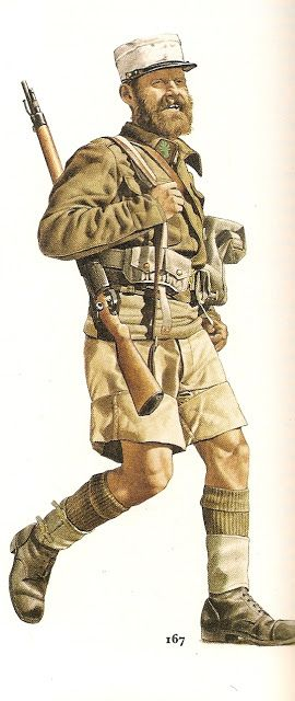 Nº 167.- Private, Fighting  Foreing  Legion ,1942..jpg