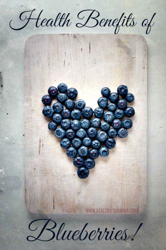Blueberries- the Antioxidant Super Fruit! With just 80 calories per cup and virtually no fat, a blueberries nutrition offers many benefits. Here's the skinny on blueberry nutrition.