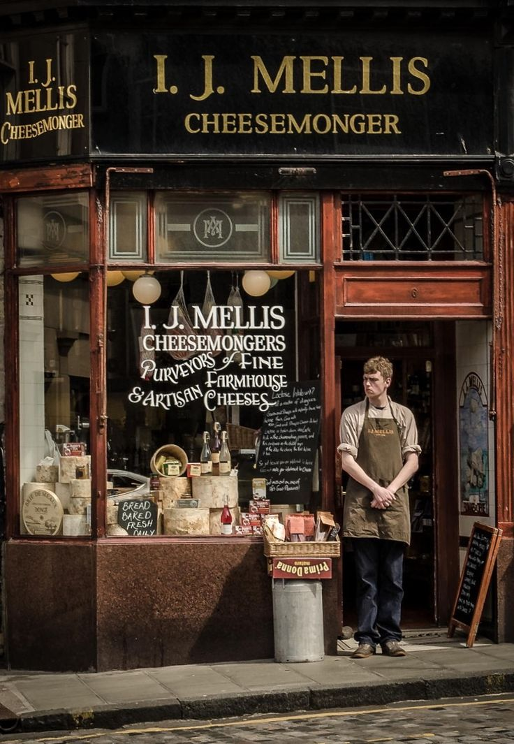 I. J. Mellis Cheesemonger - Edinburgh, Scotland