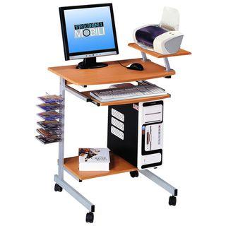 Ergonomically Designed Space-Saver Computer Desk | Overstock.com