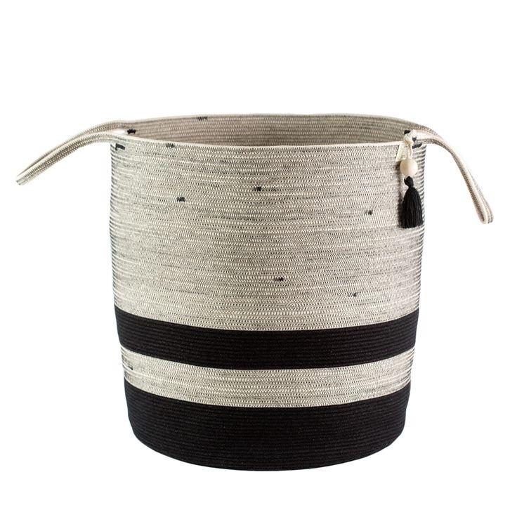 Floor Basket - liquorice