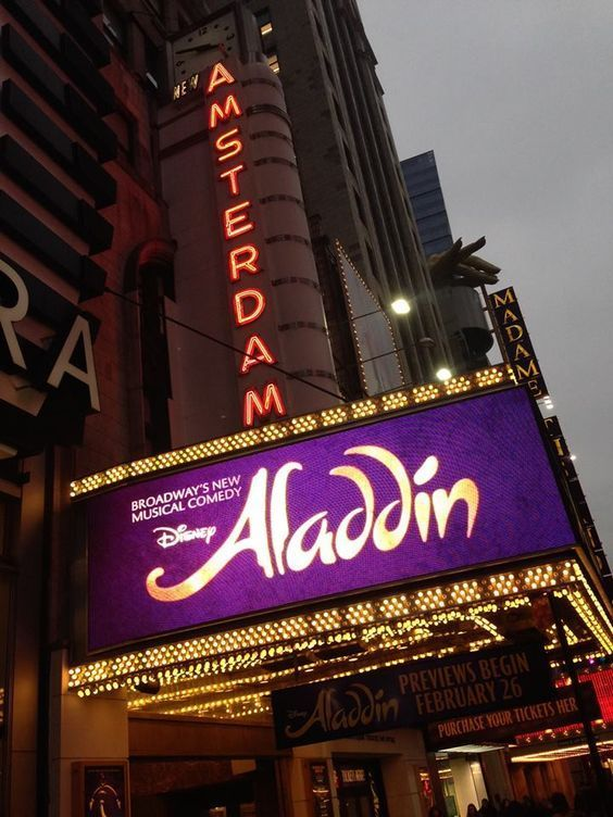 Aladdin is a magical show from beginning to end