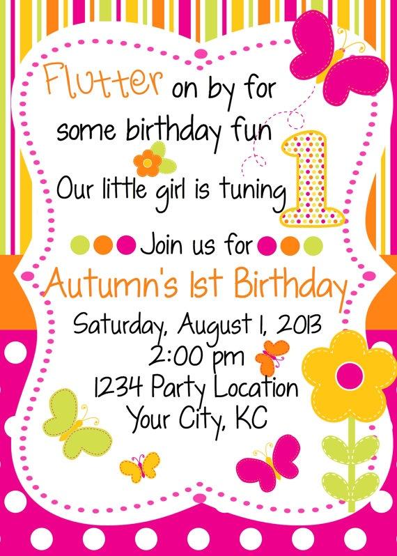 Keeping up with the Kiddos: Butterfly Birthday Party