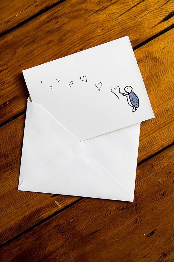 Printable Greeting Card Download Valentine Card Cute Animal
