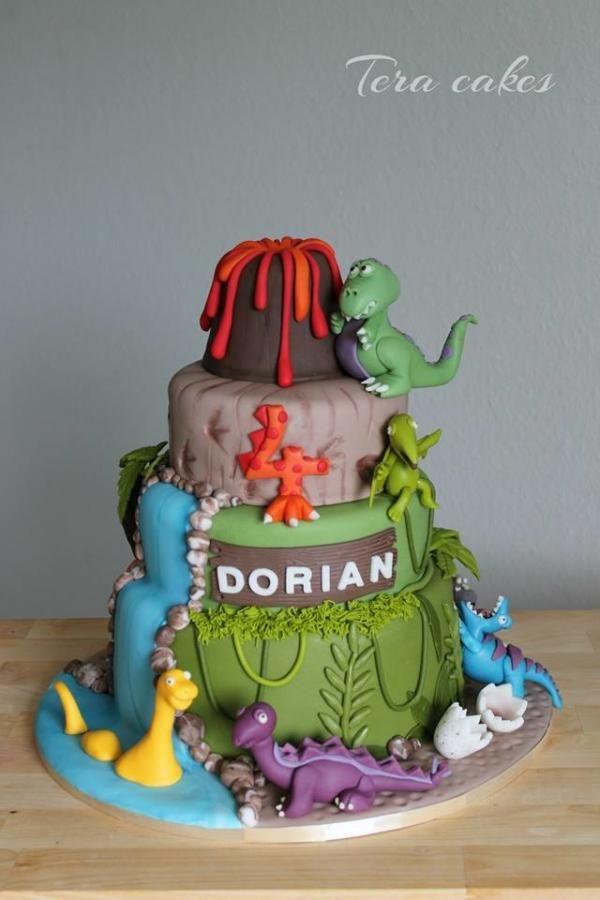Dino cake - Cake by Tera cakes