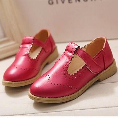 MEISJE - Ronde Teen - Platte schoenen ( Zwart/Blauw/Roze/Rood ) - EUR € 12.99