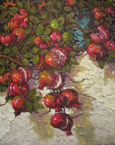 © Stephen Trebilcock | Pomegranates on the Wall